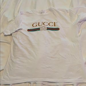 Gucci *dupe* White Tee